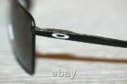 Oakley EJECTOR Sunglasses OO4142-0158 Satin Black Frame With PRIZM Black Lens NEW