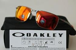 Oakley EJECTOR Sunglasses OO4142-0258 Matte Gunmetal Frame With PRIZM Ruby NEW