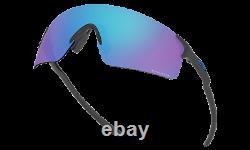Oakley EVZERO BLADES Sunglasses OO9454-0338 Steel COLOR / PRIZM Sapphire Iridium