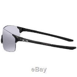 Oakley EVZero Pitch Black Iridium Sport Men's Sunglasses OO9388-938801-38
