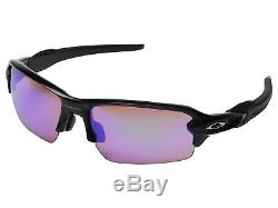 Oakley FLAK 2.0 Asian Fit Polished Black / Prizm Golf Sunglasses OO9271-09