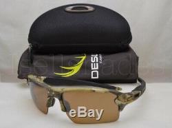 Oakley FLAK 2.0 XL (OO9188-67 59) Desolve Bare Camo with Prism Tungsten Lens