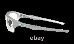 Oakley FLAK BETA Sunglasses OO9372-1065 Silver/Clear Black Iridium Photochromic