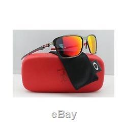 Oakley Ferrari Tincan Carbon Iridium Sunglasses, Carbon, 58 mm, OO6017-07