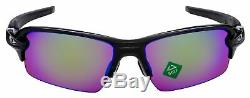 Oakley Flak 2.0 Asia Fit Sunglasses OO9271-09 Polished Black Prizm Golf Lens