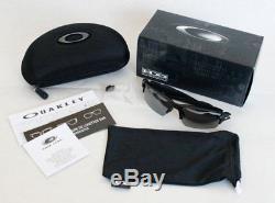 Oakley Flak 2.0 Polarized Sunglasses OO9271-07 Polished Black With Black Iridium