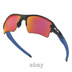 Oakley Flak 2.0 XL MLB LA Dodgers Sunglasses Matte Black Frame Prizm Field Lens