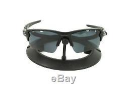 Oakley Flak 2.0 XL Matte Black Frame / Revant Stealth Polarized Lenses Custom