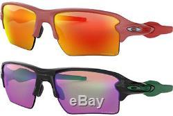 Oakley Flak 2.0 XL Men's Semi-Rimless Sunglasses with Prizm Flash Lens OO9188