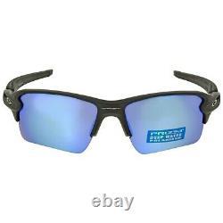 Oakley Flak 2.0 XL POLARIZED Sunglasses OO9188-58 Matte Black With PRIZM DEEP H2O