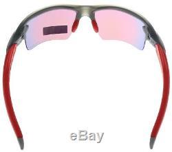 Oakley Flak 2.0 XL Sunglasses OO9188-04 Matte Grey Smoke Prizm Road BNIB