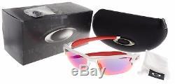 Oakley Flak 2.0 XL Sunglasses OO9188-21 Polished White Positive Red Iridium