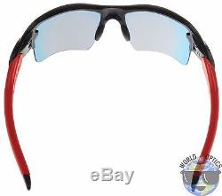 Oakley Flak 2.0 XL Sunglasses OO9188-24 Polished Black Positive Red Iridium