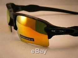 Oakley Flak Jacket 2.0 XL Black Camo w Prizm Ruby Lens (oo9188-86)