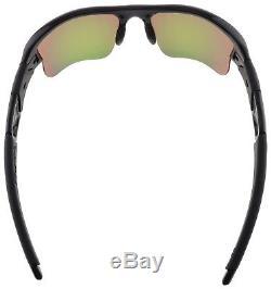 Oakley Flak Jacket XLJ Sunglasses 03-899 Polished Black Fire Iridium Lens NIB