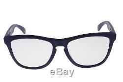 Oakley Frogskins MPH Sunglasses OO9245-36 Matte Blue Titanium Clear Lens