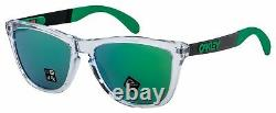 Oakley Frogskins Mix Sunglasses OO9428-0455 Polished Clear Prizm Jade Lens