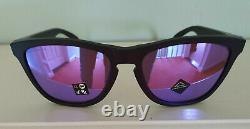 Oakley Frogskins Sunglasses OO9013-H655 Matte Black/Prizm Violet NEW