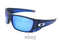 Oakley Fuel Cell Men's Matte Translucent Blue HDO Optics Sunglasses OO9096-K160