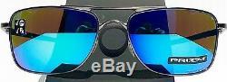 Oakley GAUGE 8 L LEAD 62m AVIATOR w PRIZM Sapphire Blue Sunglass 4124-10 62