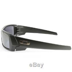Oakley Gascan OO9014 24-435 Matte Black/Black Iridium Men's Sport Sunglasses