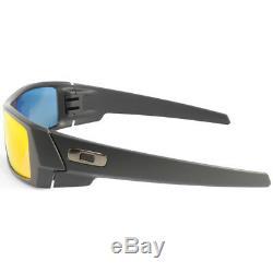 Oakley Gascan OO9014 26-246 Matte Black/Ruby Iridium Men's Sport Sunglasses