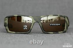Oakley Gascan POLARIZED Sunglasses OO9014-5160 Matte Olive Camo WithPRIZM Tungsten