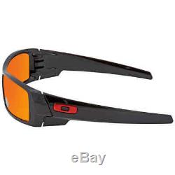 Oakley Gascan Prizm Ruby Wrap Men's Sunglasses OO9014 901444 60 OO9014 901444 60