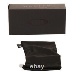Oakley Gascan Sunglasses 12-856 Matte Black Black Iridium Polarized Lens