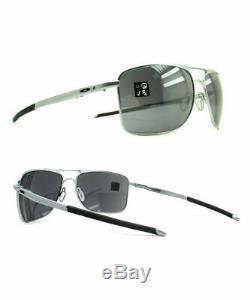 Oakley Gauge 8 M Sunglasses OO4124-07 Matte Lead Frame With Black Iridium Lens