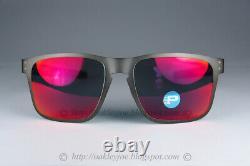 Oakley HOLBROOK METAL POLARIZED Sunglasses OO4123-0555 Gunmetal WithTorch Iridium