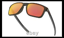 Oakley HOLBROOK MIX Sunglasses OO9385-0457 Grey Smoke With PRIZM Ruby ASIA FIT
