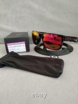 Oakley HOLBROOK XL POLARIZED Sunglasses OO9417-0859 Black Ink With PRIZM Ruby Lens