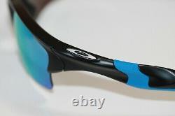 Oakley Half Jacket 2.0 XL POLARIZED Sunglasses OO9154-6762 Black/PRIZM Deep H2O