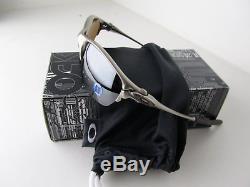 Oakley Half X Metal Titanium Plasma Frame Tungsten Iridium Lens Sunglass 42-215