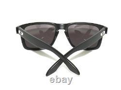 Oakley Holbrook 9102-01 Matte Black Warm Grey Sunglasses Clearance