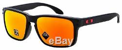 Oakley Holbrook Asia Fit Sunglasses OO9244-4256 Matte Black Prizm Ruby Polarized