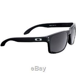 Oakley Holbrook Black 55 mm Plastic Frame Matte Black Lens Sunglasses OO9102