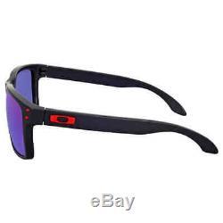 Oakley Holbrook Matte Black Sunglasses OO9102-910236-55 OO9102-910236-55
