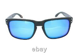 Oakley Holbrook Men's Black Prizm Sapphire Polarized Sunglasses OO9102-F055