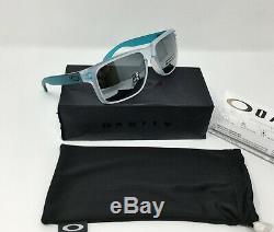 Oakley Holbrook Men's Matte Clear Sunglasses, PRIZM BLACK IRIDIUM OO9102-H655