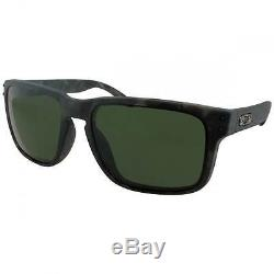 Oakley Holbrook Mens Black Tortoise Sunglasses Plutonite Lens & O Matter Frame