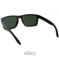 Oakley Holbrook Mens Matte Green Sunglasses With Plutonite Lens & O Matter Frame