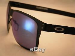 Oakley Holbrook Metal Matte Black w Jade Iridium Lens NEW sunglasses (oo4123-04)