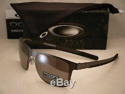 Oakley Holbrook Metal Matte Gunmetal w Prizm Black Polar Lens (oo4123-06)