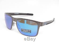 e402ed0cdc Oakley Holbrook Metal Oo4123-07 Matte Gunmetal Polarized Sunglasses