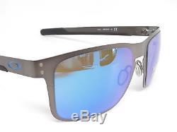 Oakley Holbrook Metal OO4123-07 Matte Gunmetal Polarized Sunglasses