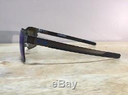 Oakley Holbrook Metal OO4123-07 Matte Gunmetal with Prizm Sapphire Polarized