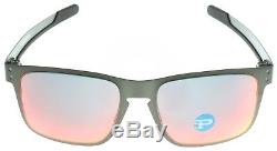 Oakley Holbrook Metal Sunglasses OO4123-0555 Gunmetal Torch Iridium Polarized