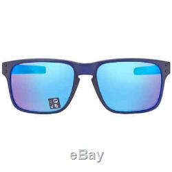 Oakley Holbrook Mix Prizm Sapphire Rectangular Men's Sunglasses OO9384 938403 57